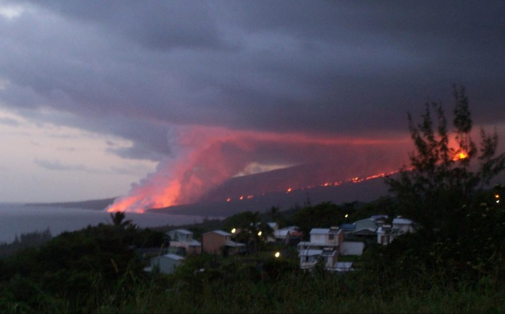 eruption August 2007