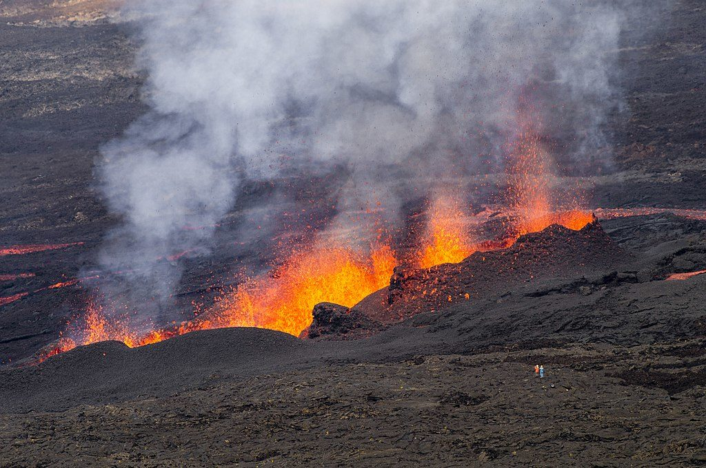 éruption du Piton de la Fournaise